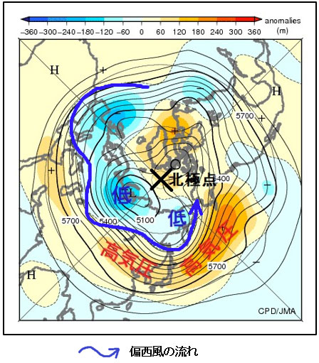 Synoptic weather charts in the world (hysk)